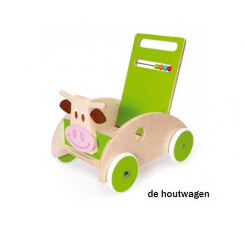 loopwagen koe scratch