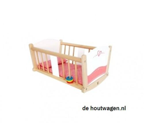 Baby Schommel Bed.Poppen Schommel Bed Hape