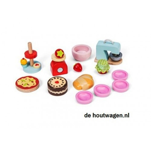 make en bake set le toy van