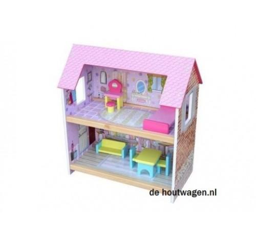 poppenhuis gekleurd