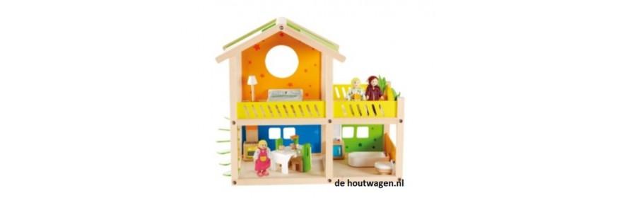 houten poppenhuizen