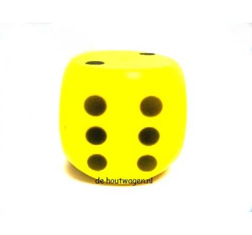 dobbelsteen groot geel
