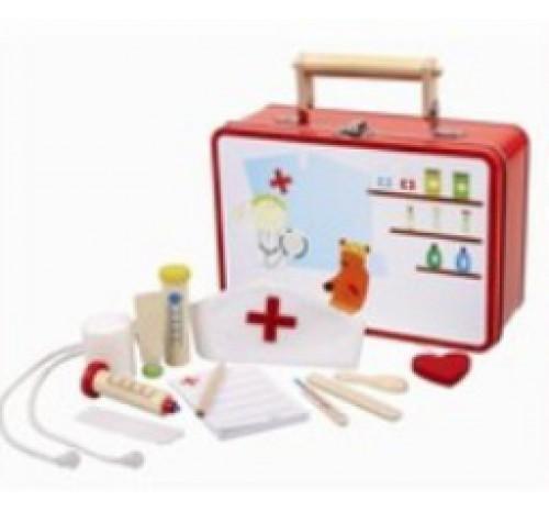 dokterskoffertje metaal