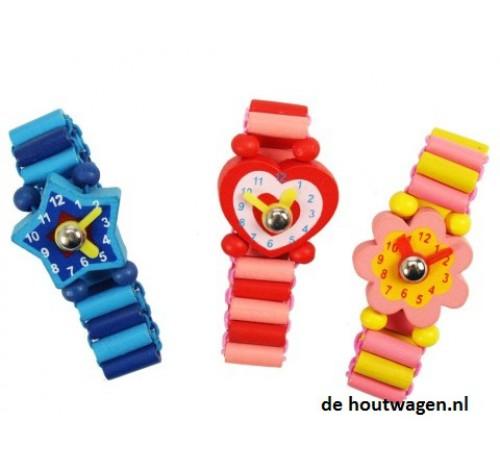 speelgoed horloge met blauwe ster