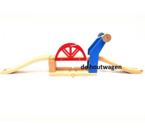 houten ophaalbrug
