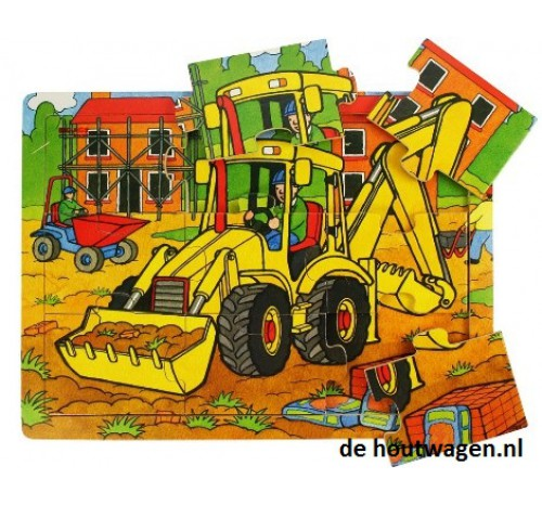 puzzeltray dik shovel 9 dlg