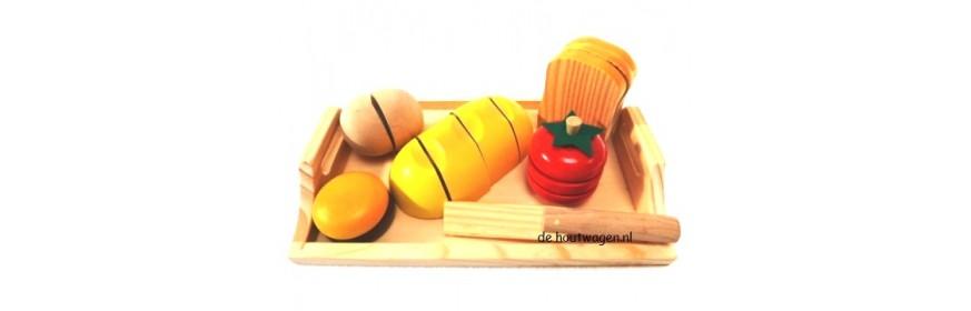houten brood en beleg
