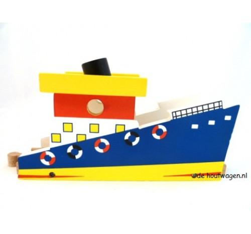 houten veerboot