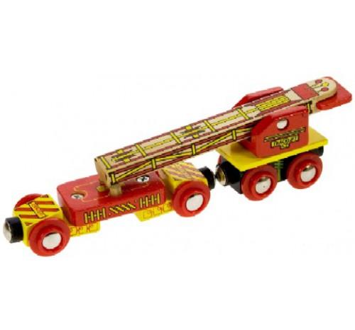 wagon voor het leggen van rails