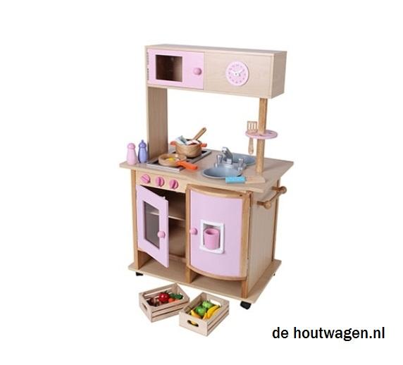 Werktafel keuken op wielen inspiratie het beste interieur - Houten doos op wielen ...